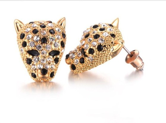 Shown above Jaguar Post Earrings Screenshot: By Sophia Styles from the Liveinfashion.com website