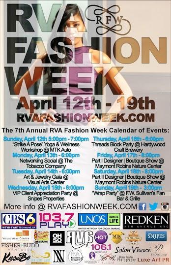 RVAFW poster color