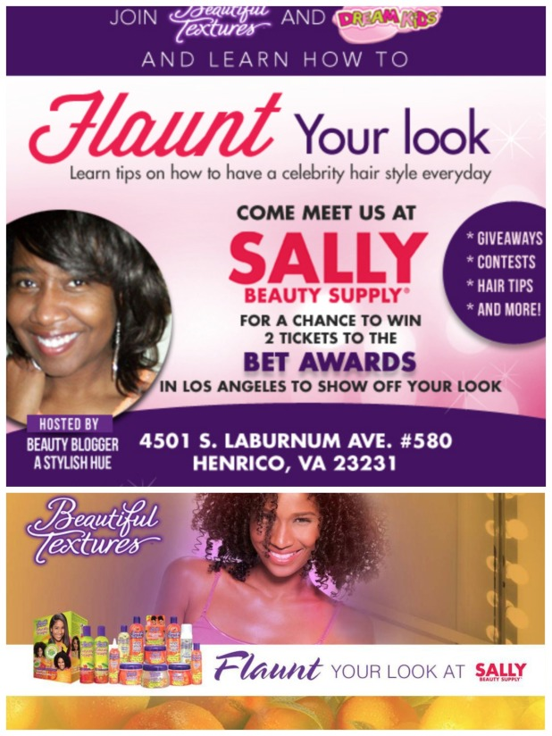 Beautiful Textures: Flaunt Your Look Event at Sally Beauty