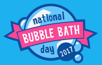 National Bubble Bath Day 2017